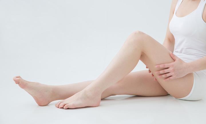 「冬ごもりの脚」から「スッキリ夏の脚」へ